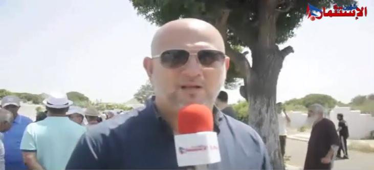 شهادة في حق المرحوم مصطفى ساجد يوم 11 غشت 2018 بمقبرة الشهداء بالدار البيضاء من طرف السيد كريم التازي مسؤول عن شركة ريشبوند