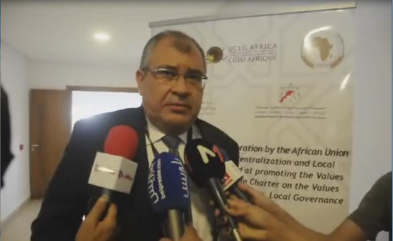 استجواب مع السيد محمد عواد ممثل جمعية جهات المغرب ..