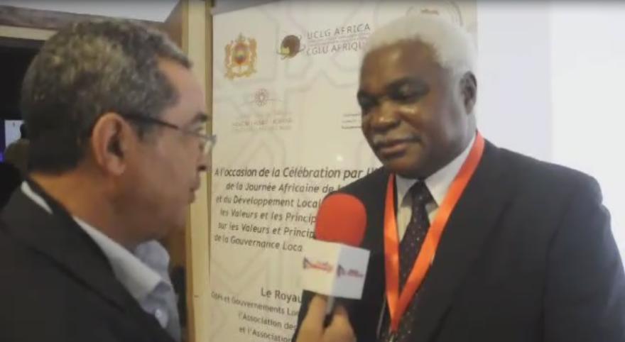 كلمة من السيد جان بيير ايلونغ مباسي الأمين العام لمنظمة اتحاد المدن والحكومات المحلية بإفريقيا