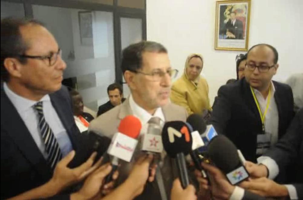 تصريح من رئيس الحكومة للصحفيين بالحسيمة. ..