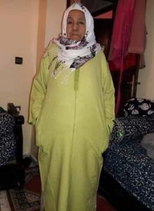 وفات المرحومة للا فاطنة وسير خالت زميلنا هشام حوري