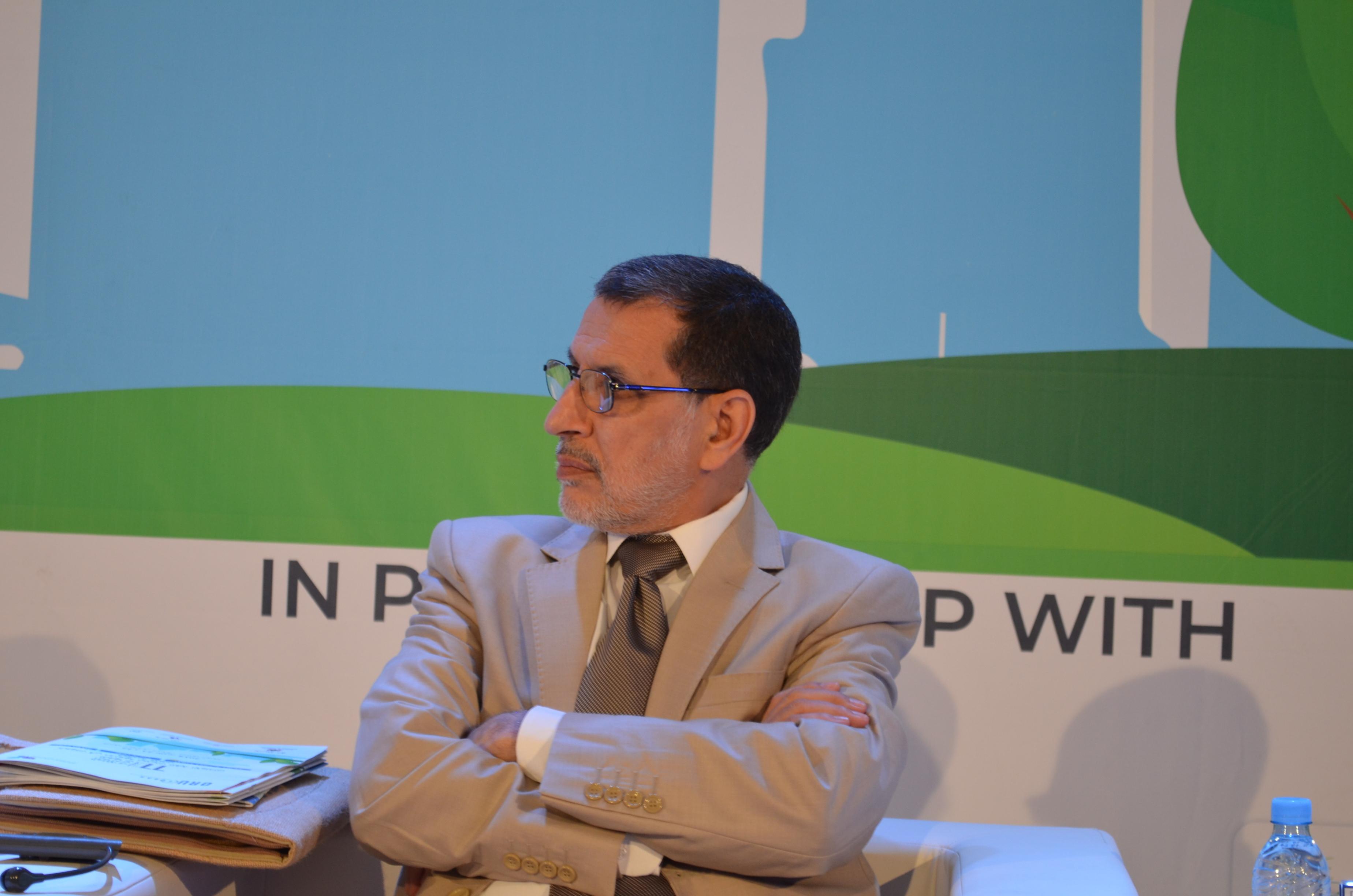 كلمة رئيس الحكومة العثماني بمناسبة إفتتاح المنتدى العالمي للجهات : الدورة 11