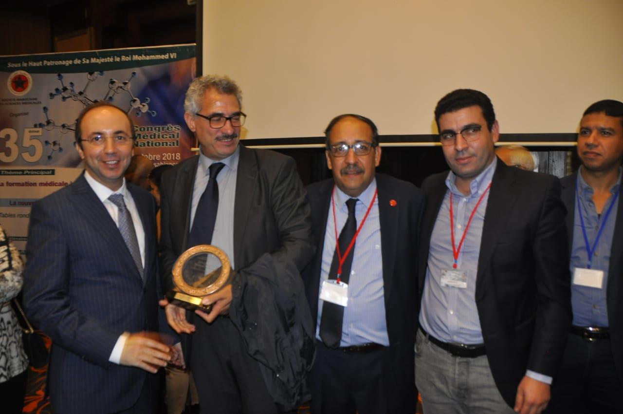 الدكتور مولاي سعيد عفيفي: رئيس التجمع النقابي الوطني للأطباء الأخصائيين بالقطاع الخاص